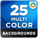 25 Multi Color Backgrounds - GraphicRiver Item for Sale