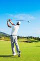 Man Playing Golf - PhotoDune Item for Sale
