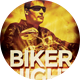 Biker Night Gathering Party Flyer - GraphicRiver Item for Sale