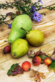 autumn ripe pears on the table - PhotoDune Item for Sale