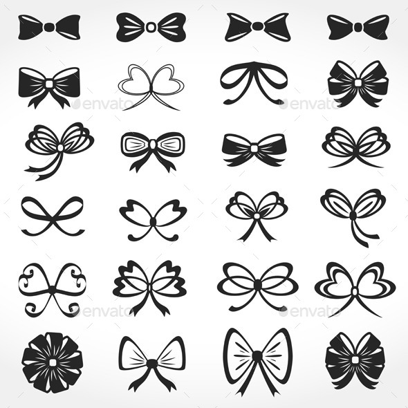 GraphicRiver Bows Icons 9052751