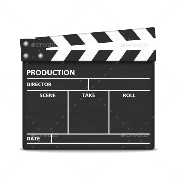 GraphicRiver Clapper Board 9052840