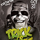 Halloween Classic Monsters Party Flyer