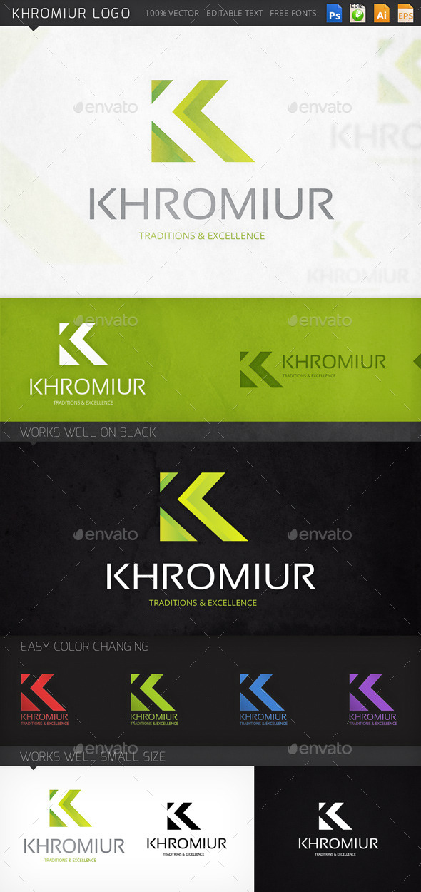 GraphicRiver Khromiur Logo 9053196