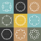 Vector Set of Outline Emblems and Badges - GraphicRiver Item for Sale