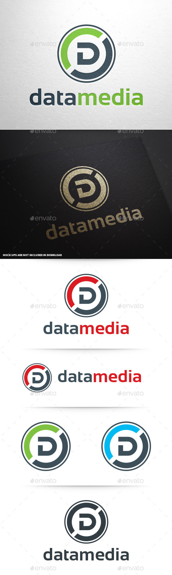 GraphicRiver Letter D Logo Template 9053338