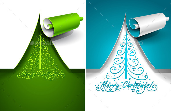 GraphicRiver Christmas Trees 9053453