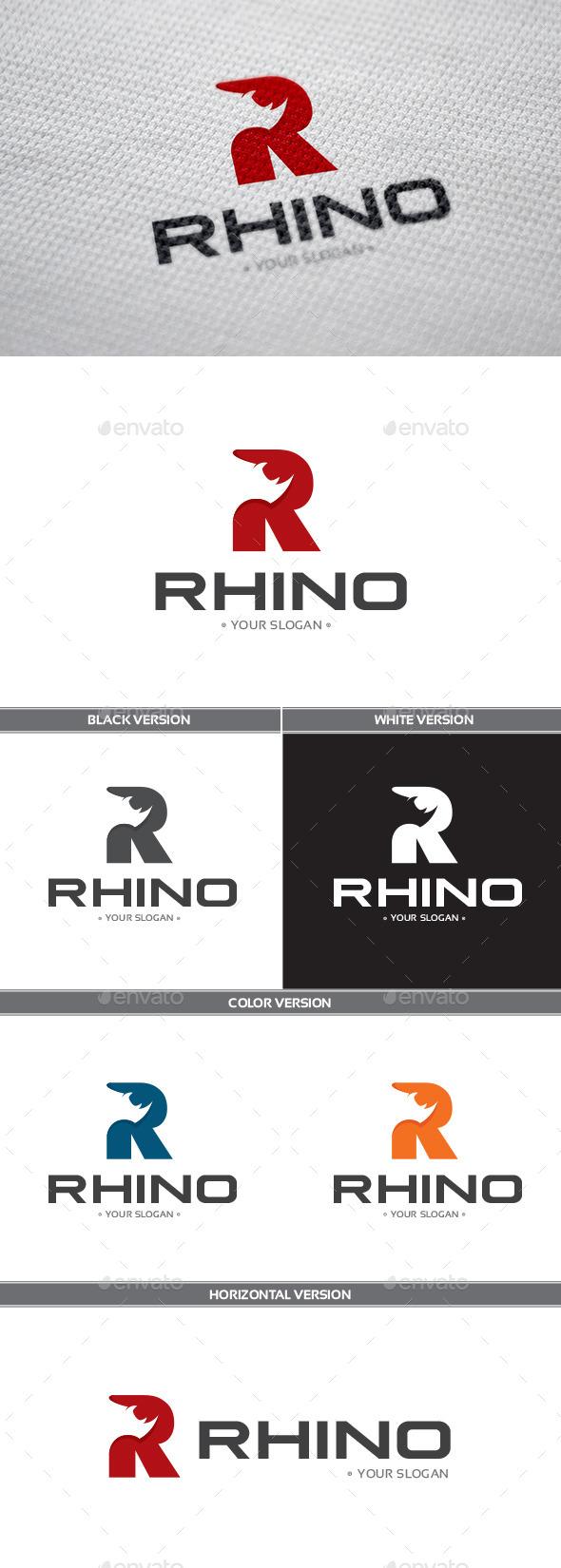GraphicRiver Rhino Logo 9053497