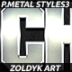 10 Premium Metal Styles 3 - GraphicRiver Item for Sale