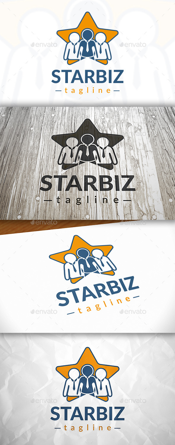 GraphicRiver Star Team Logo 9053666