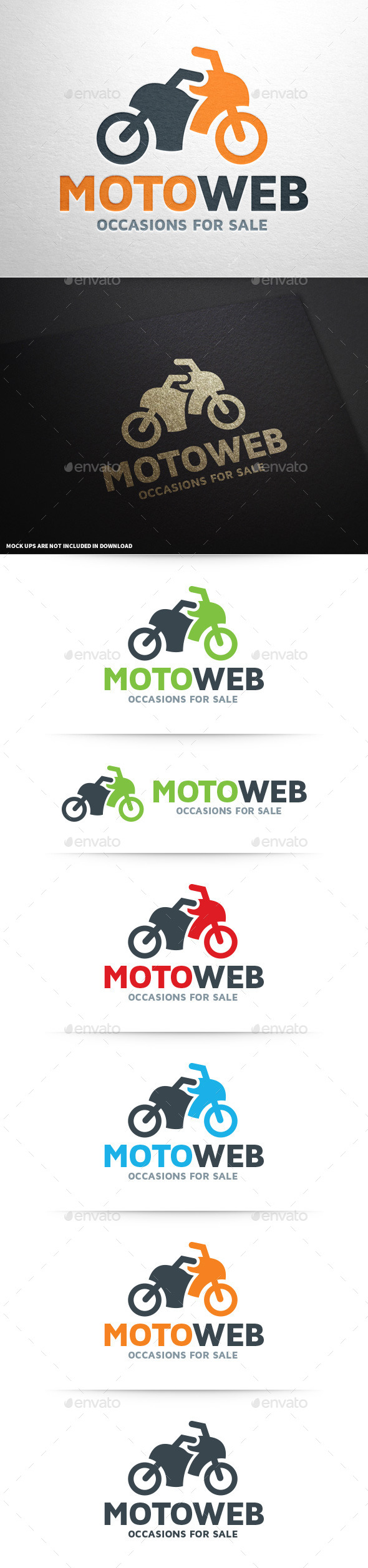 GraphicRiver Moto Web Logo Template 9054166