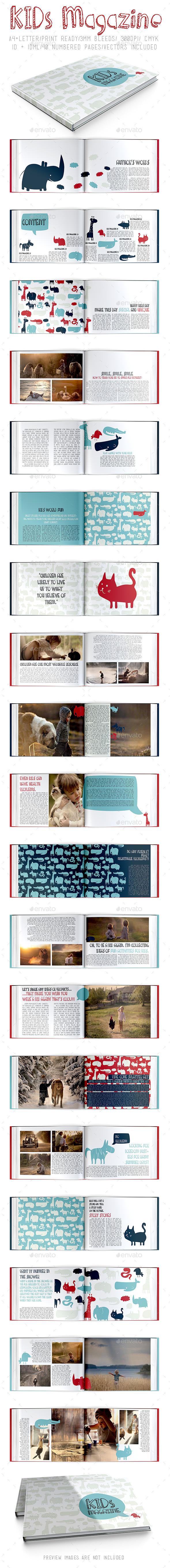 GraphicRiver Kids Magazine 9054286
