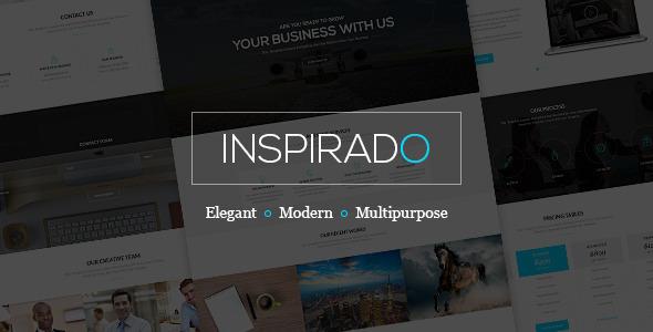 Inspirado Multi-purpose Elegant PSD Template - Corporate PSD Templates