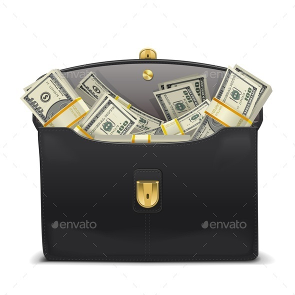 GraphicRiver Case with Money 9054387