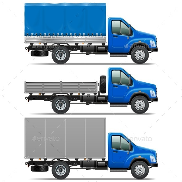 GraphicRiver Lorry Icons Set 1 9054400
