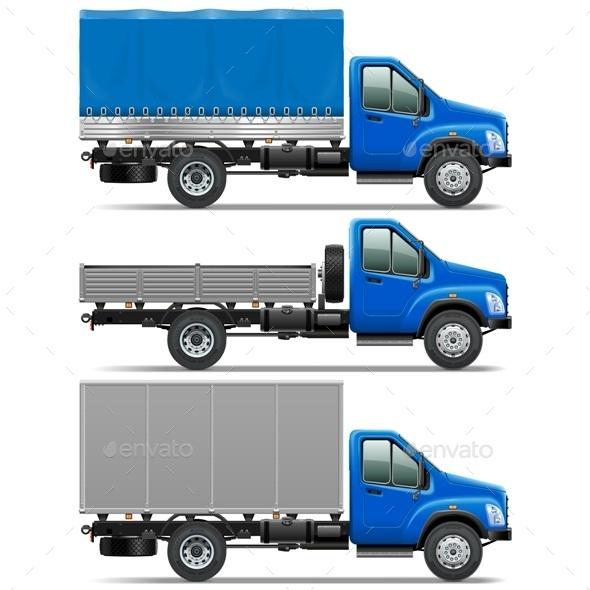 GraphicRiver Lorry Icons Set 1 9054400