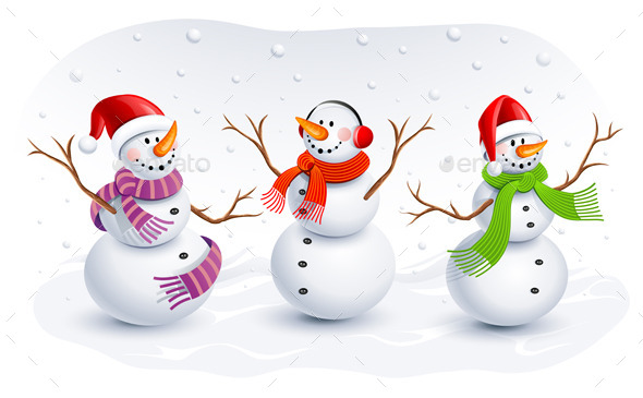 GraphicRiver Snowmen 9054614