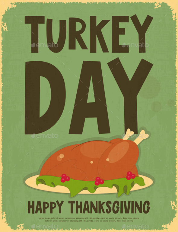 GraphicRiver Thanksgiving Day 9029024