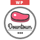 Downtown - Restaurant WordPress Theme