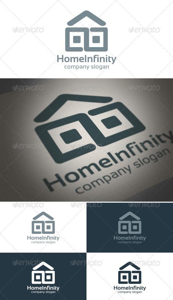 Home Infinity - Symbols Logo Templates