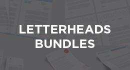 Letterheads Bundles