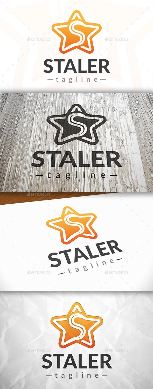 GraphicRiver Star S Letter Logo 9055106