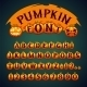 Halloween Pumpkin Font - GraphicRiver Item for Sale