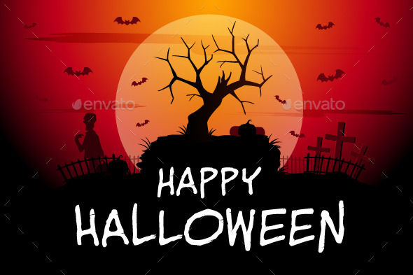 GraphicRiver Happy Halloween 9056050