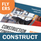 Construction Company Flyers – 4 Options - GraphicRiver Item for Sale
