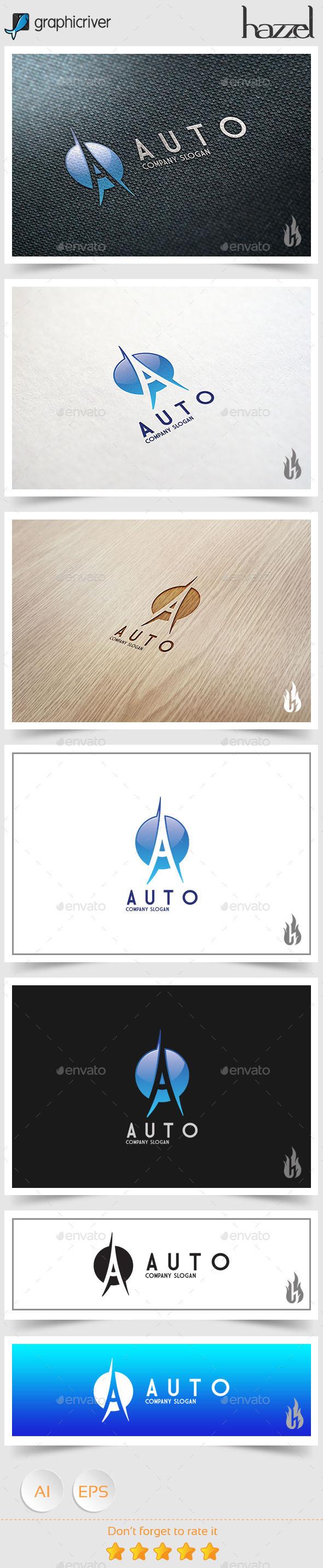 GraphicRiver Auto Logo 9056241