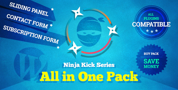 CodeCanyon Ninja Kick Series All in One Pack 9056249