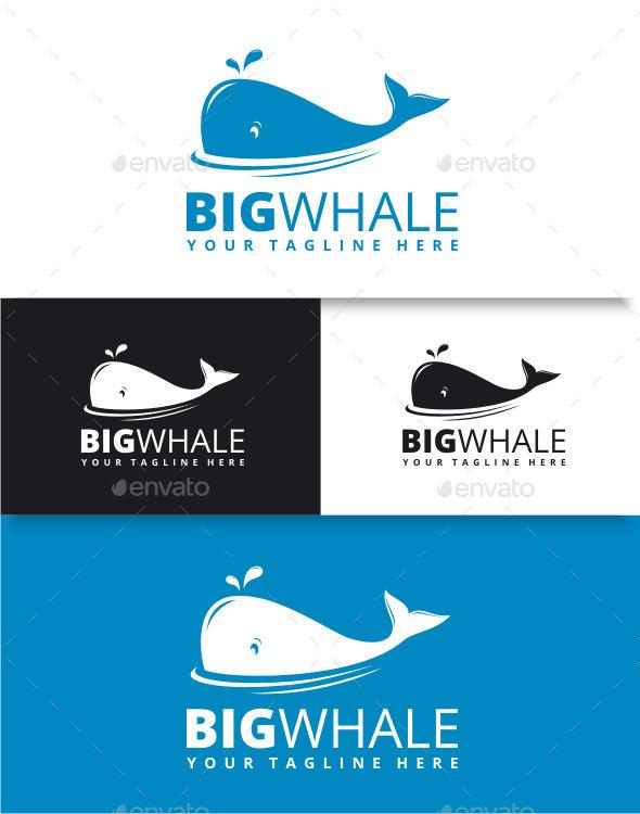 GraphicRiver Big Whale Logo 9056328