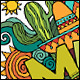 3 Mexico Doodles - GraphicRiver Item for Sale