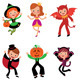 Children in Halloween Costumes - GraphicRiver Item for Sale