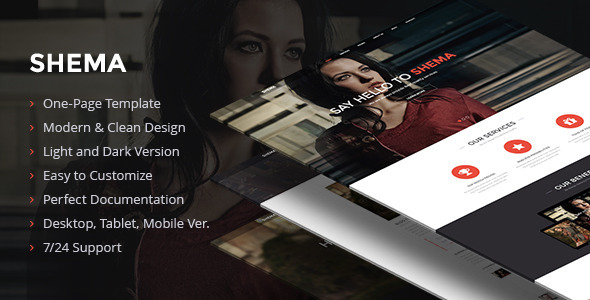 ThemeForest Shema Creative Muse Template 9056772