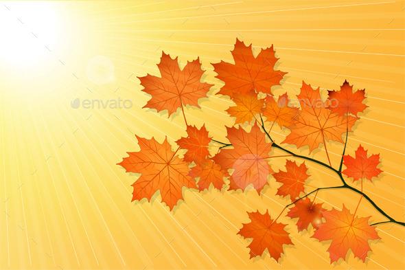 GraphicRiver Autumn Background 9031858
