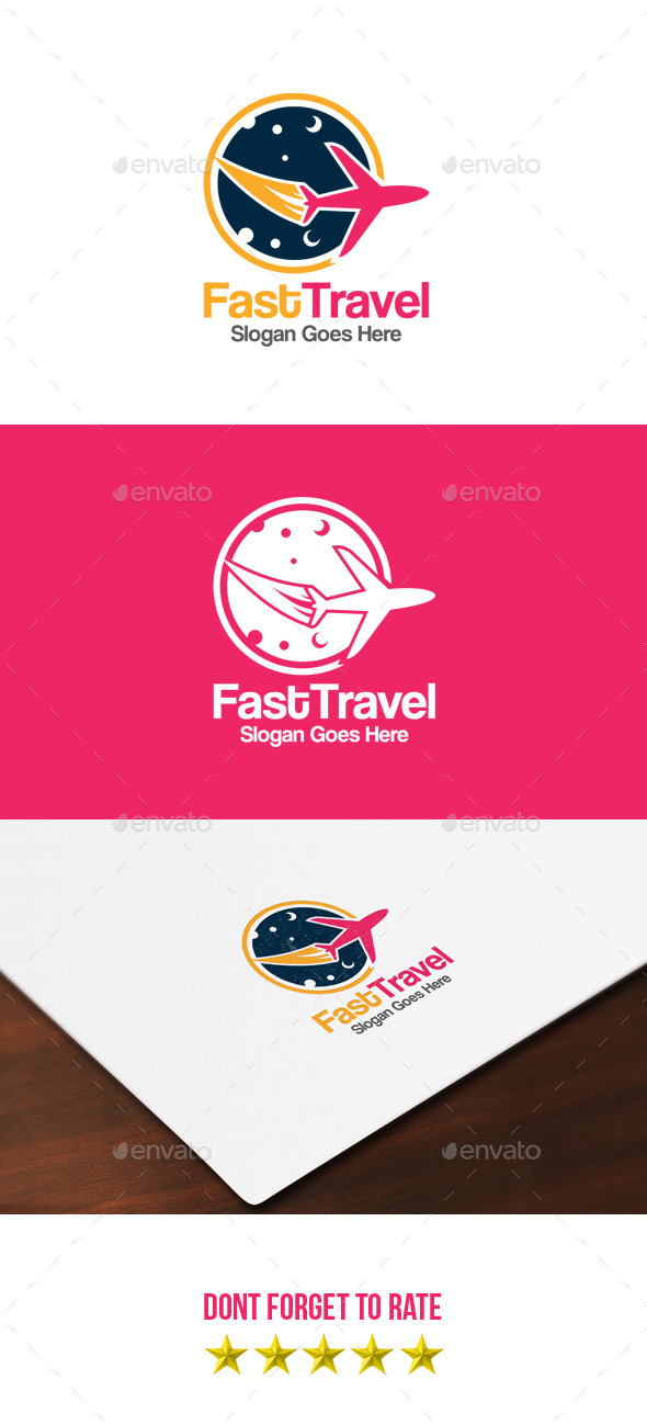 GraphicRiver Fast Travel Logo 9056894