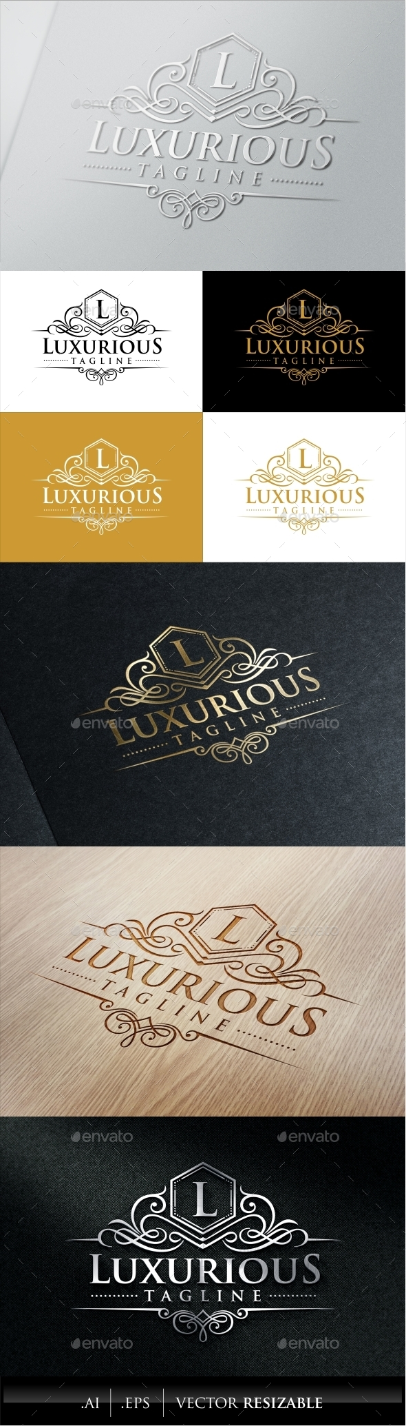 GraphicRiver Luxurious Royal Logo 9056932