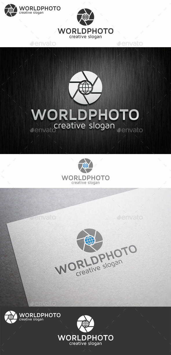 GraphicRiver World Photo Lens Logo 9057179