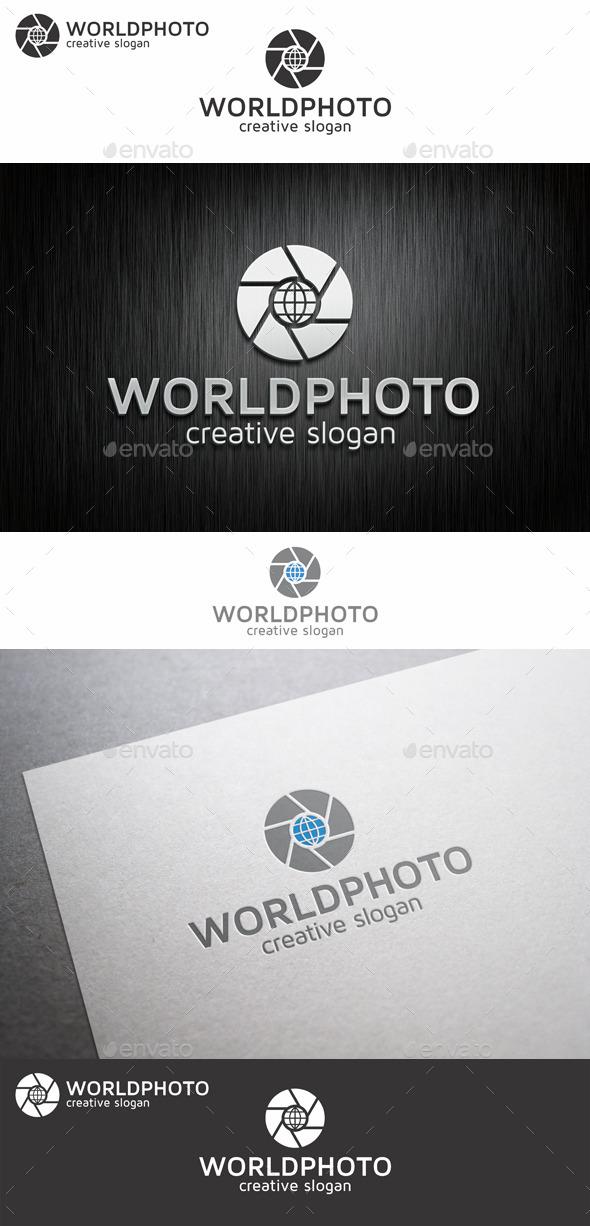 GraphicRiver World Photo Lens Logo 9057179