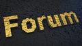 Forum cubics - PhotoDune Item for Sale