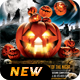 Scary Halloween Party Flyer - GraphicRiver Item for Sale