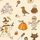 Halloween Doodle Design Elements - GraphicRiver Item for Sale