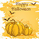Halloween Background with Pumpkins - GraphicRiver Item for Sale
