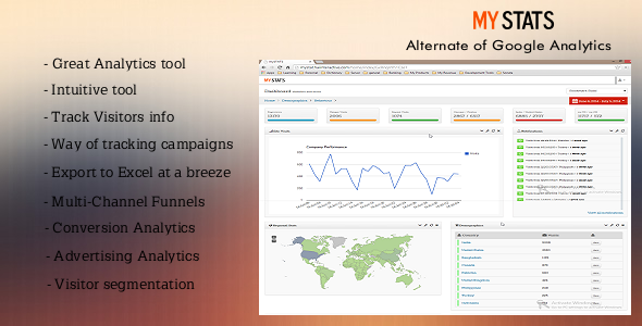 CodeCanyon mySTATS Alternate of Google Analytics 8296267