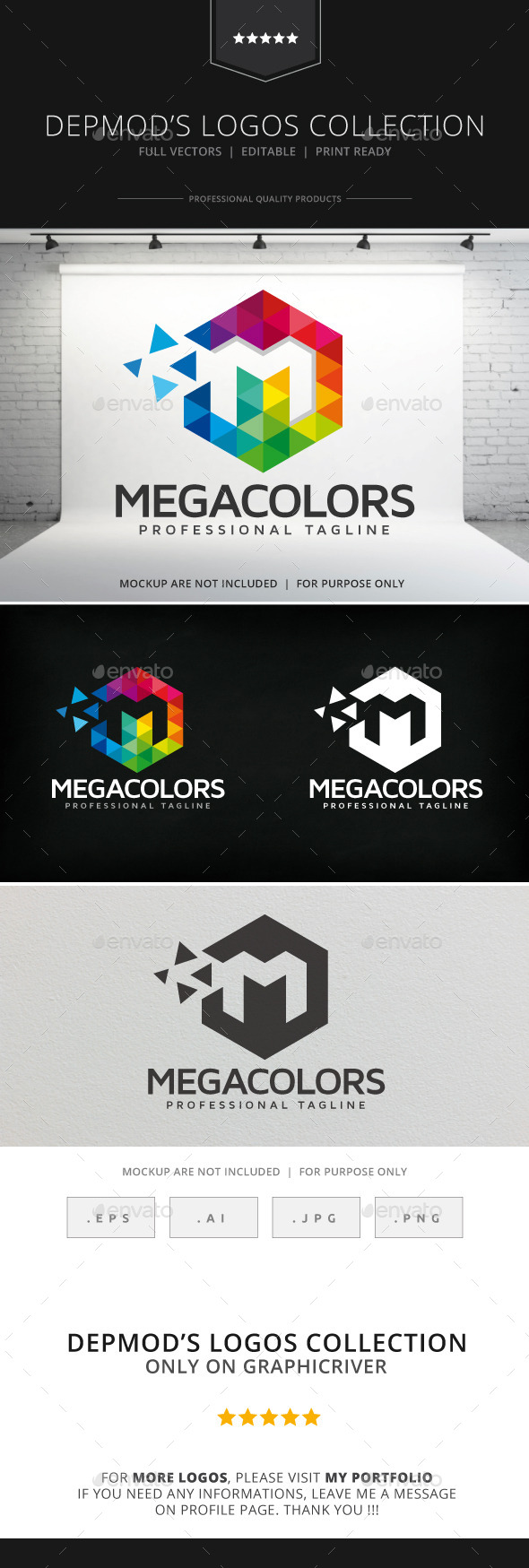 GraphicRiver Mega Colors Logo 9057878