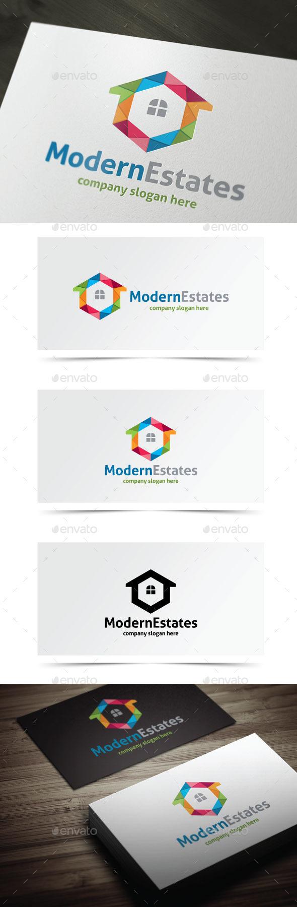 GraphicRiver Modern Estates 9059097