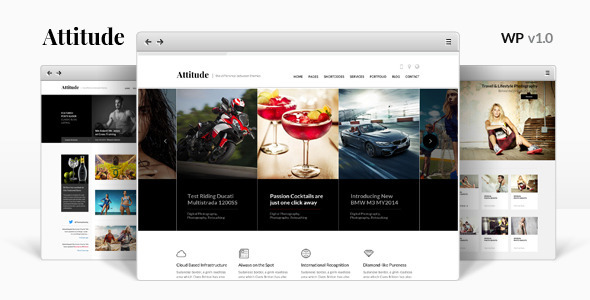 ThemeForest Attitude Multipurpose WordPress Theme 9059135