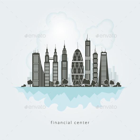 GraphicRiver City Financial Center 9059186