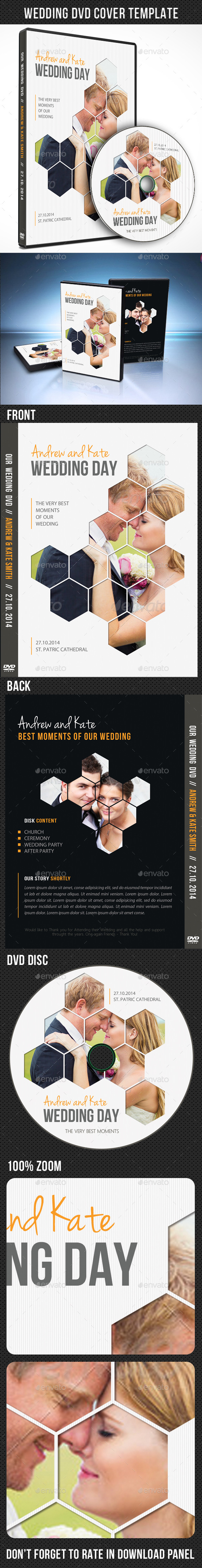 GraphicRiver Wedding DVD Cover Template 06 9013772